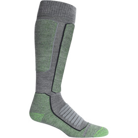 Icebreaker Ski+ Medium OTC Calcetines Hombre, gritstone heather/lawn
